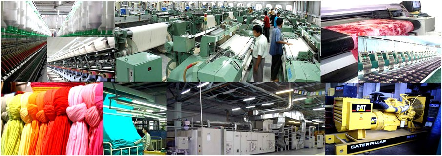 Service Provider of All Types of Textile and Industrial Machinery